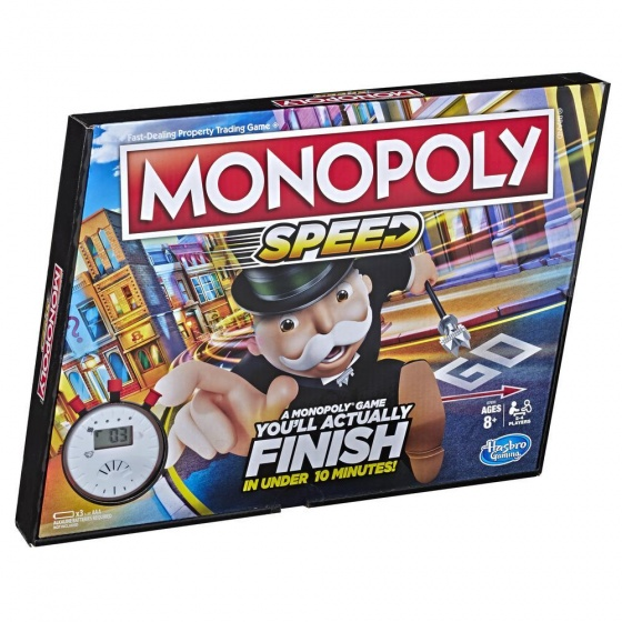 Hasbro bordspel Monopoly Speed (NL)