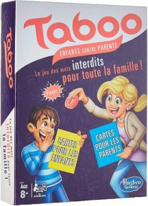 Hasbro gezelschapsspel Taboe Kids vs Parents (FR) (48.95 EUR) 26.00% korting