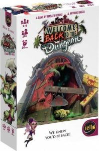 Iello kaartspel Welcome Back to the Dungeon (nl) (12.65 EUR) 25.00% korting