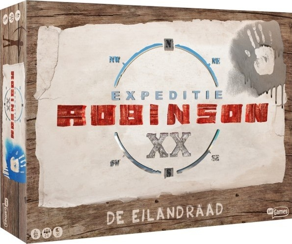 Just Games bordspel Expeditie Robinson De Eilandraad (NL)