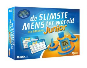 Just Games bordspel de slimste mens ter wereld junior (22.95 EUR) 26.00% korting