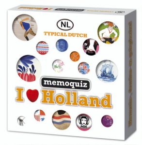 Nova Carta memoquiz I love Holland (3.95 EUR) 34.00% korting