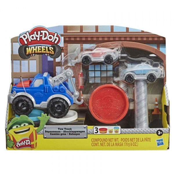 Play Doh Wheels Takelwagen