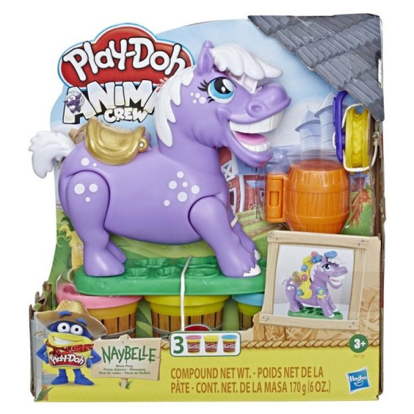 Playdoh Animal Crew Naybelle Show Pony
