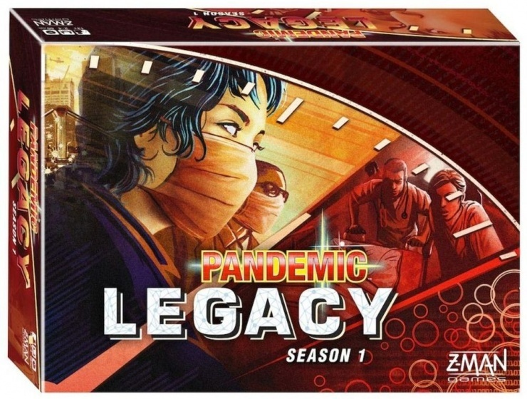 Z Man Games Pandemic Legacy Red gezelschapsspel (NL)