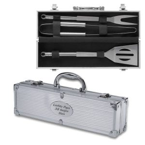 Barbecue Set Grillo met bedrukking (34.90 EUR)