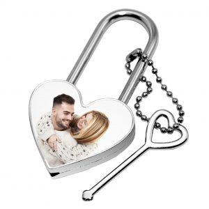 Love Lock Heart met foto (17.95 EUR)