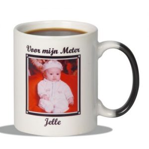 Magic Foto Mok met personalisatie (17.95 EUR)