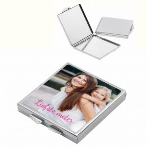 Make-up Spiegel met foto (12.95 EUR)