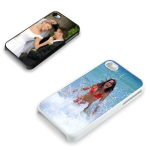 iPhone 4 & 4S Cover Antimicrobial met foto (17.20 EUR)
