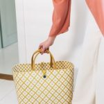Shopper - Motif Bag - Mustard