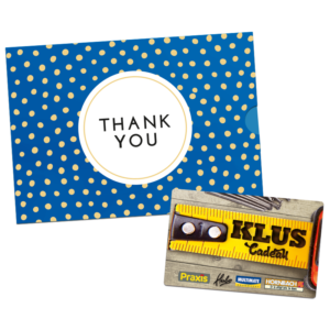 Klus Cadeau – Thank You (10.00 EUR)