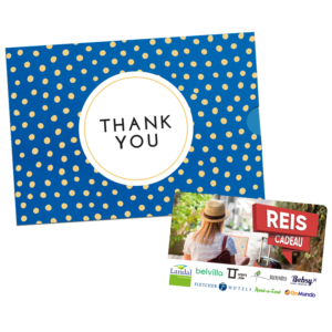 Reis Cadeau – Thank You (10.00 EUR)