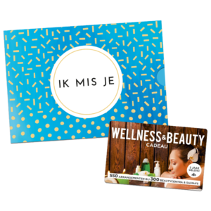 Wellness & Beauty Cadeau – Ik mis je (10.00 EUR)