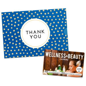 Wellness & Beauty Cadeau – Thank You (10.00 EUR)